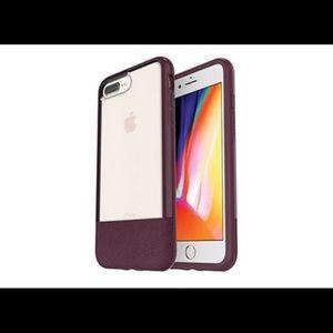 iPhone 7/8 plus statement series case wine red